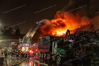 Scrap Yard Fire - 358 Chapel St, New Haven, CT - 5/28/21