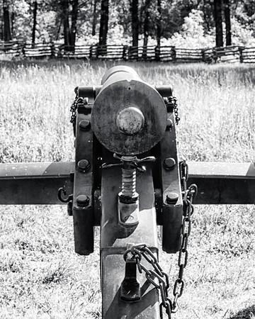 Pea Ridge National Military Park (b&w)