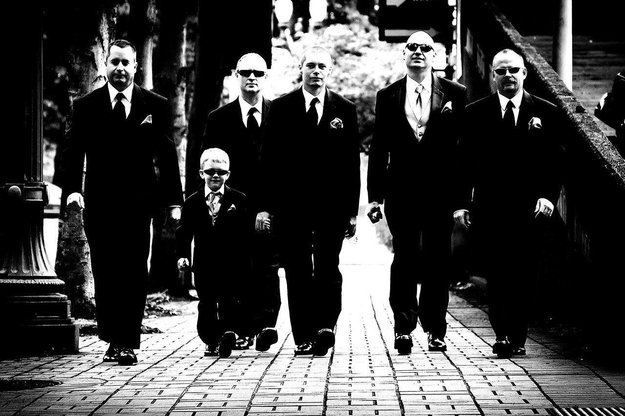 Reservoir Dogs. Every wedding party needs at least one.