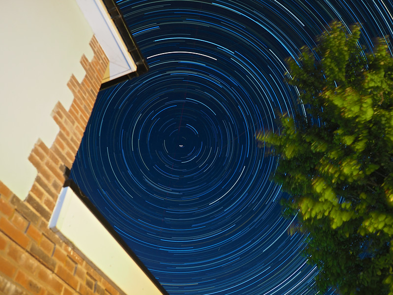 Live Composite Star Trail
