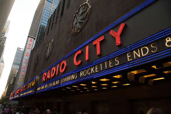 Rockettes at Radio City and New Amsterdam Theatre