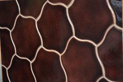 Rookwood Pottery tile samples