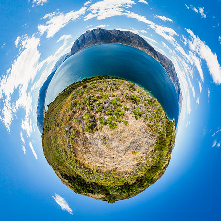 Lake Hawea Tiny Planet Photos