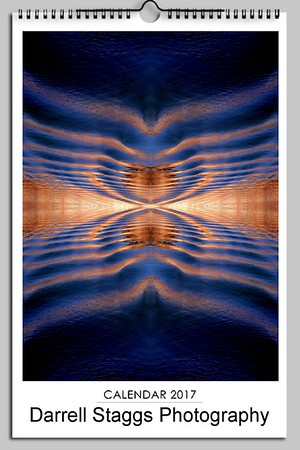 2017 Wall Calendar Abstract