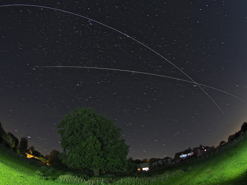 ISS Double Flyby 19 July 2020