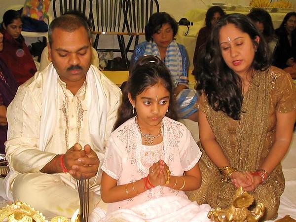 Jyoti's 10th Birthday Pooja