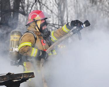 Canandaigua County Road 28 fire