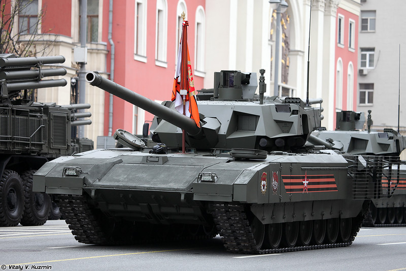 Dress rehearsal of 2018 Moscow Victory Day Parade