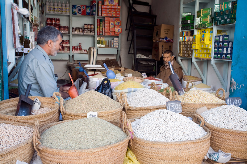 Small shop in the medina, Tetouan, Morocco