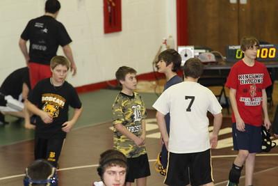 Bordentown MS at SJ Tournament 2-12-11