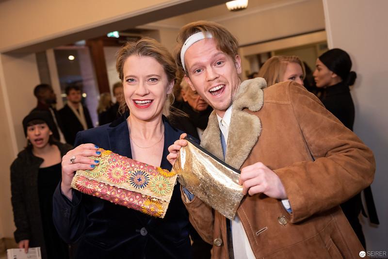 Caroline Peters, Simon Jensen - Nestroy Gala 2018