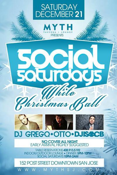 Social Saturdays @ Myth Taverna & Lounge 12.21.13