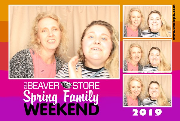 OSU Beaver Store Spring Family Weekend 2019