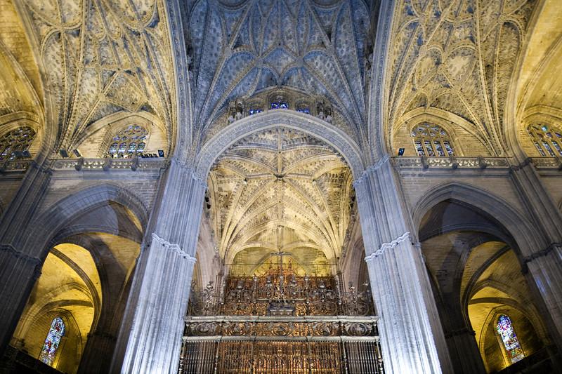 Transept, Santa Maria de la Sede Cathedral, Seville, Spain