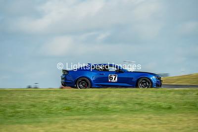 67 Blue Camaro