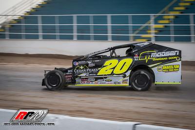 Super DIRT Week - Oswego - 10/4/17 - John Zachary