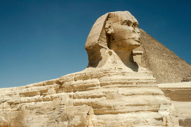 Sphinx At Gisa, Egypt