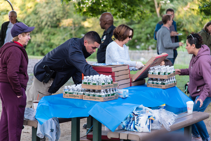 Pizza with Police at the Park 2019_ERF4460