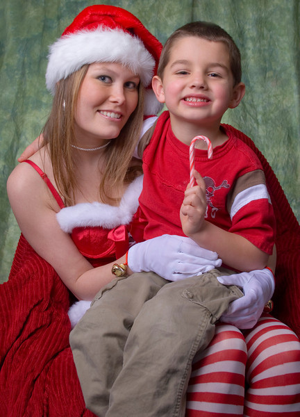Miss Candy Cane and a Little Helper - Newark, Delaware