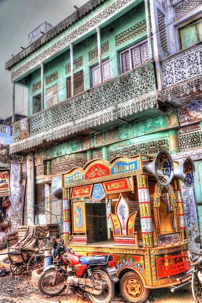 Colorful and vibrant Bundi