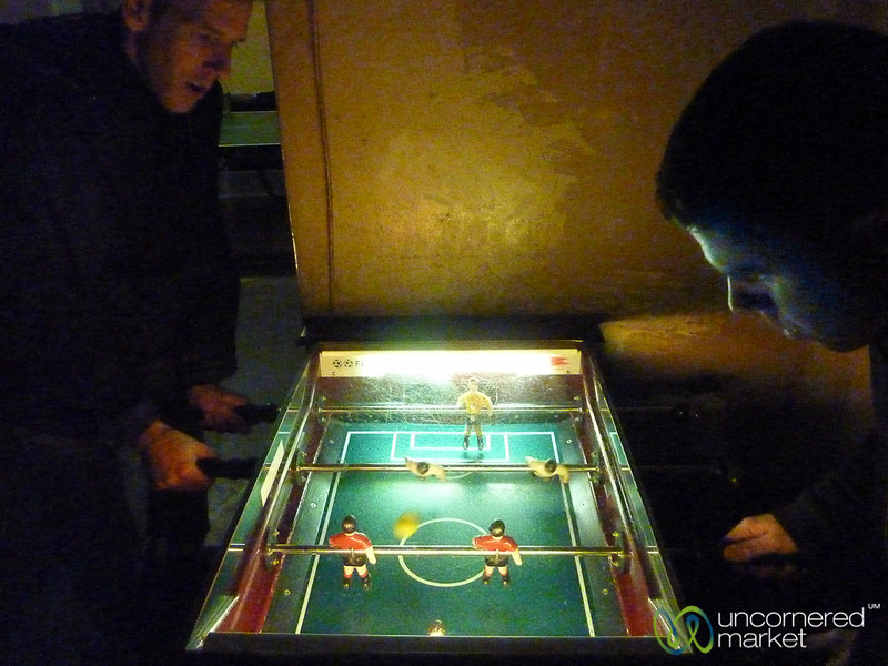 Foosball at Dr. Pong - Mitte, Berlin