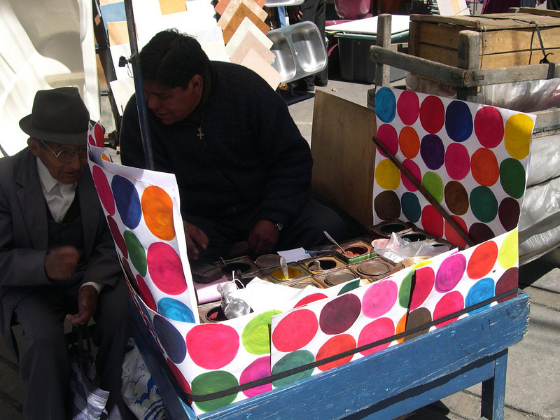 Custom mixed paint vendor.