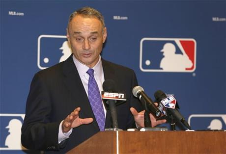 ". 3. (tie) ROB MANFRED  <p>Promises to work hard filling Bud Selig�s shoes and empty suit. (unranked) </p><p><b><a href=""http://www.usatoday.com/story/sports/mlb/2014/08/14/mlb-commissioner-rob-manfred-bud-selig/14053421/\"" target=\""_blank\""> LINK </a></b> </p><p>   (Associated Press)</p>"