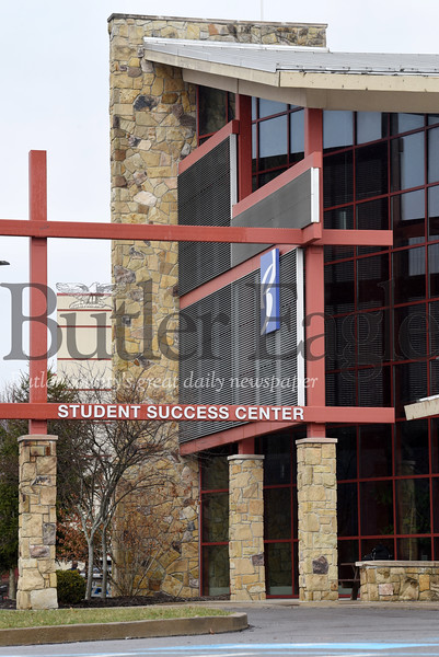 Harold Aughton/Butler Eagle: Butler County Community College students, faculty, and administrators evacuated campus Wednesday, March 11, 2020.