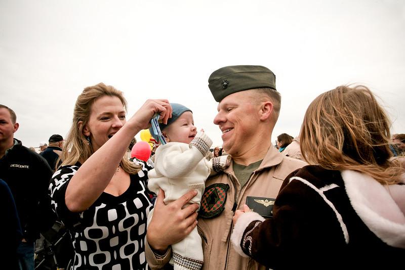 A Marine Homecoming
