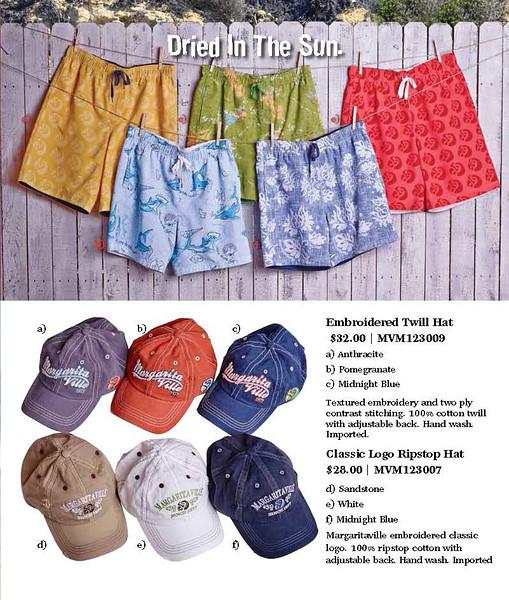 Margaritaville Apparel - Summer Catalog
