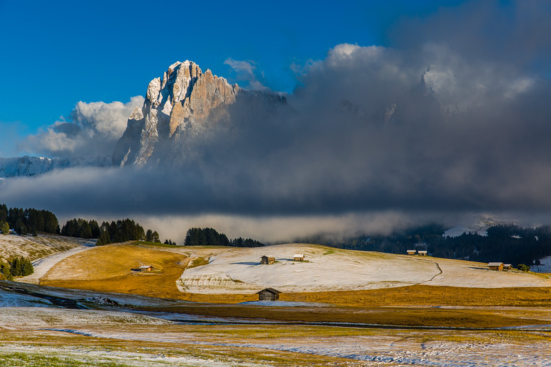 This photo was shot during the Dolomites West October 2013 photo workshop. See workshops here http://www.hanskrusephotography.com/Hans-Kruse-Photo-Workshops
