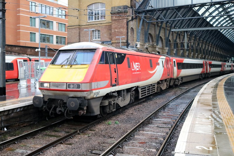 82202_91102 'City of York' 1230/1S17 Kings Cross-Edinburgh