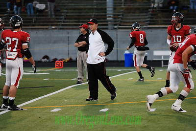 Clackamas Varsity FB vs. Mustangs Homecoming