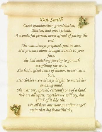 Tribute to Grammy Smith