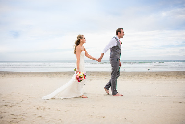 B Hotel Del Coronado Beach Wedding - Coronado Community Center Boathouse Wedding Reception