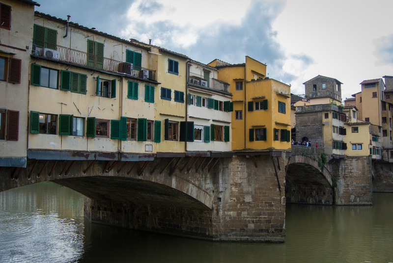 Structures in Italy are all stone and brick construction