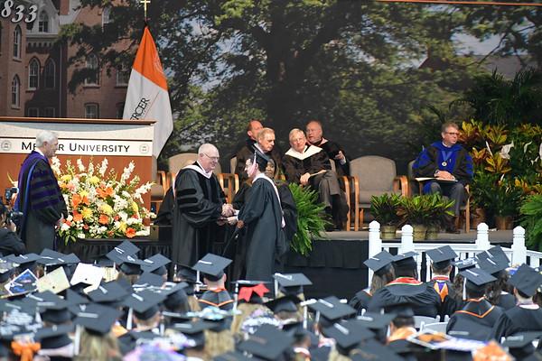Mercer Graduation Ceremony