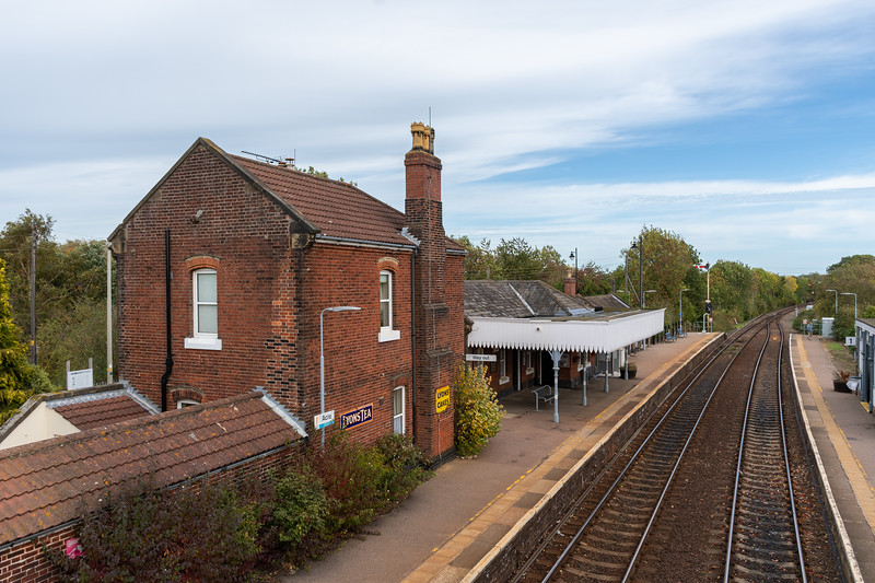 Acle railway station