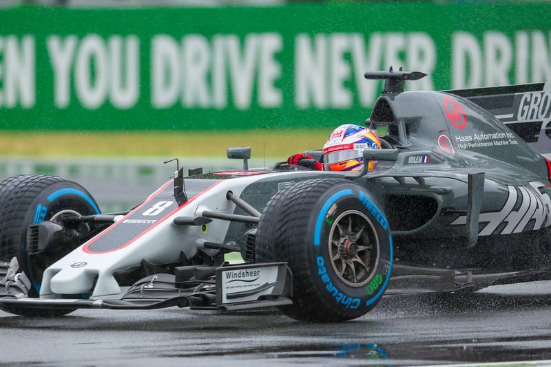 8 - Romain Grosjean