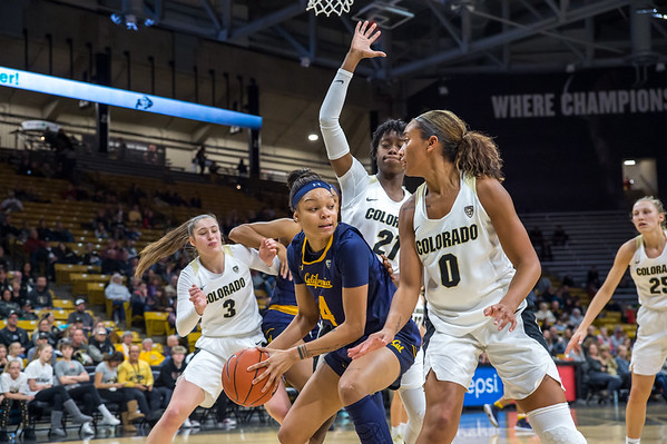 PAC12-Women's Basketball-CU vs UC Berkeley-20190127