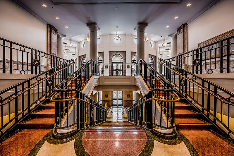 Stairways to Outside Rotunda