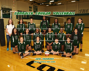 2018 Connally Volleyball