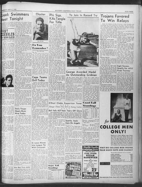 Daily Trojan, Vol. 30, No. 134, May 11, 1939