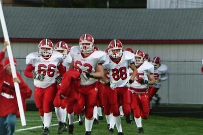 Boys Varisty Football - 10/28/2005 Spring Lake SB