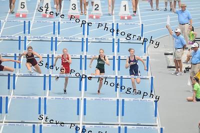 2012 Track 3A 100 Hurdles