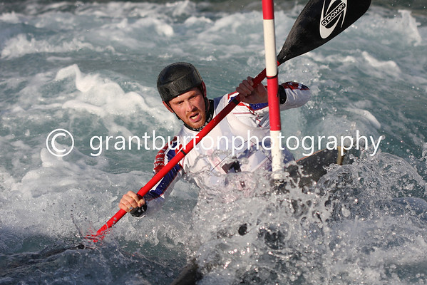 Final British Slalom Canoe Open 2013 - Mens Kayak MK1