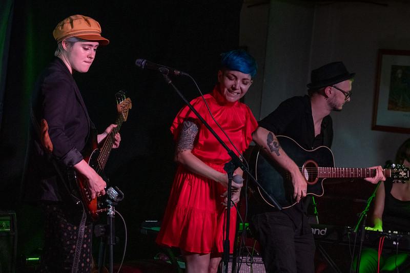 Ali Coyle, Greta Valenti & Stephen Mildwater