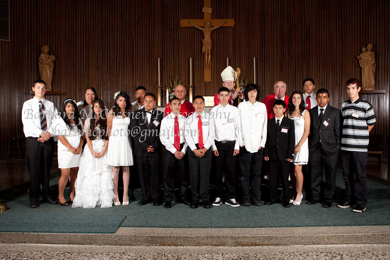 St. Peter's Church Confirmation May 2011
