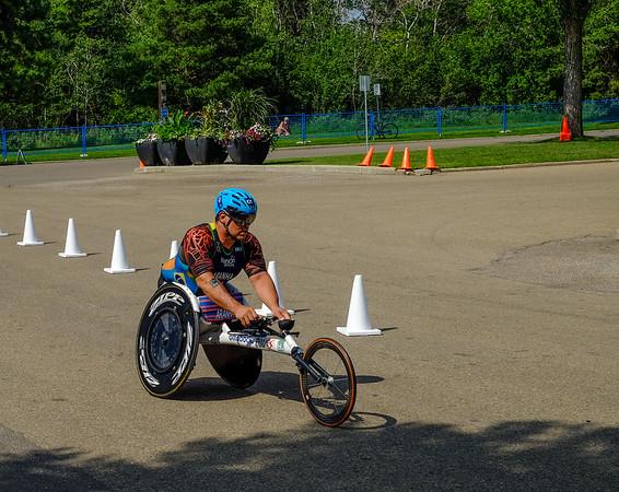 ITU, Triathlon Edmonton 2018. Para-Triathlon.