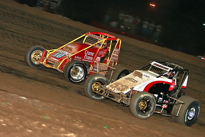 USAC Sprint Cars, Lawrenceburg Speedway, Lawrenceburg, IN, April 22, 2006